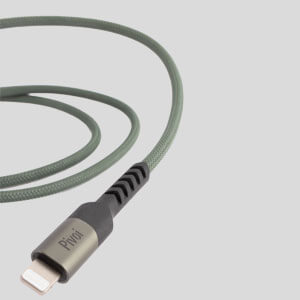 Pivoi MFi Certified Type C to Lightning Cable (Pack of 1)