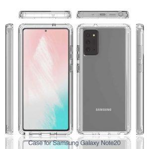 Pivoi Samsung Galaxy Note 20 Transparent Cover