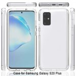 Samsung  6.7 inch S20 Plus Transparent Mobile Back Cover