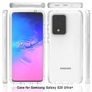 Samsung S20 Ultra 6.9 inch Screen Size Transparent Mobile Cover
