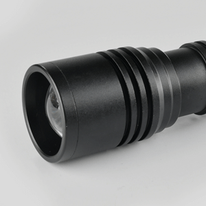Pivoi 1000 Lumens 10W LED Tactical Rechargeable Flashlight with Clip