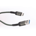 Pivoi Grey USB 3.0 AM to Type C Cable (Pack of 1)