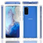 Samsung Galaxy S20 Transparent Case and Cover – PC and Soft TPU – Crystal Clear