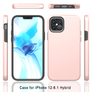 Pivoi 6.1 inch iPhone 12 Pro Hybrid Mobile Covers