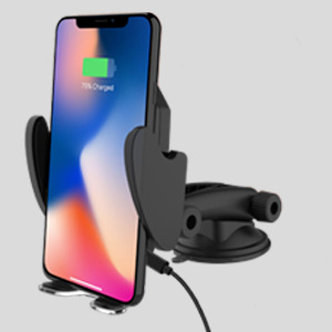 Pivoi Car Mobile Holder with Wireless Charging