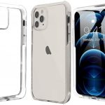 Pivoi iPhone 11 Pro 5.8 inch Transparent Mobile Back Covers