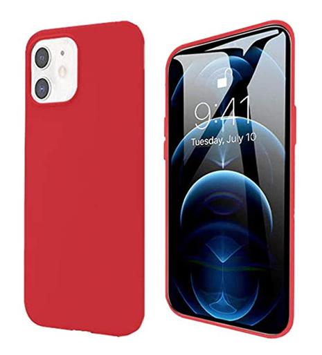 Pivoi 5.4 inch iPhone 12 Pro Max Silicon Mobile Cover