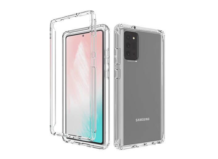 Samsung Galaxy Note 20 Ultra 6.9 inch Screen Size Transparent Mobile Cover