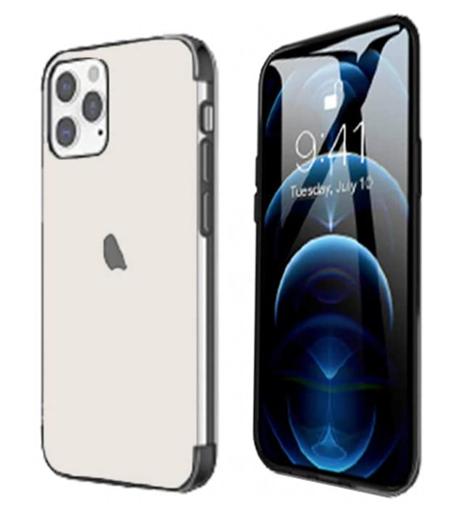 Pivoi iPhone 12 Pro Max Transparent Mobile Cover