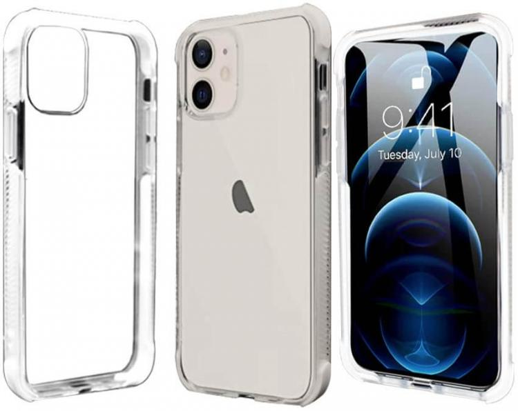 Pivoi Transparent Mobile Back Covers for 6.1 inch Apple iPhone 11 Mobile Case