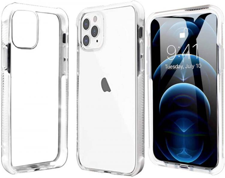 Pivoi 6.5 inch iPhone 11 Pro Max Transparent Mobile Cover
